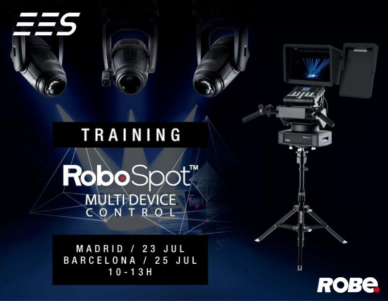 haz clic en la imagen para ampliarla Nombre:  ees_robe_robospot_training_0719.jpg Vistas: 90 Tamaño:  59,5 KB