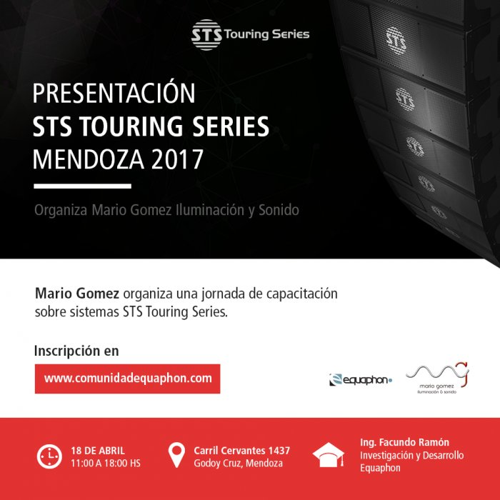 haz clic en la imagen para ampliarla Nombre:  flyer_presentacionSTS_Mendoza2017.jpg Vistas: 510 Tamaño:  63,8 KB