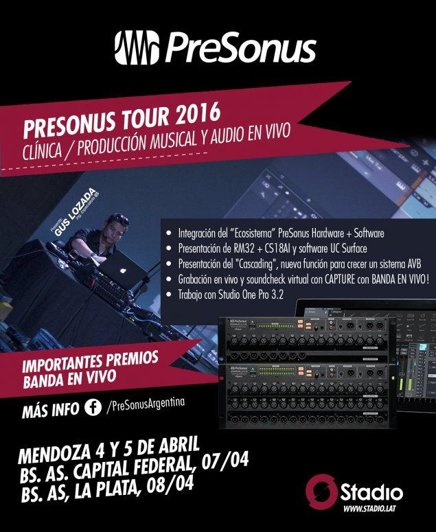 haz clic en la imagen para ampliarla Nombre:  PreSonus 2016_Argentina.jpg Vistas: 1384 Tamaño:  101,0 KB