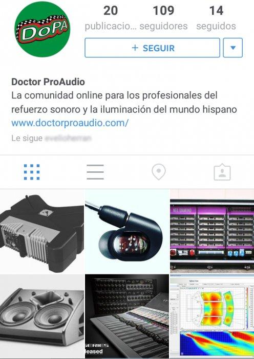 haz clic en la imagen para ampliarla Nombre:  doctorproaudio-instagram-foro.jpg Vistas: 486 Tamaño:  68,8 KB